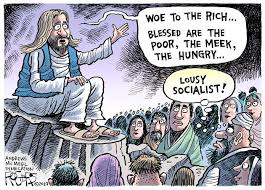 """Weird Religious News - GOP Jesus """"Blessed are the Rich and F**k the poor"""" •  Skeptical Science"""